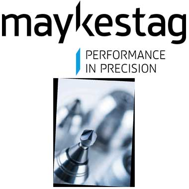 MAYKESTAG Solid carbide countersinks and solid carbide machine reamers